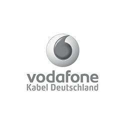 Referenzlogo von Vodadone und Kabel Deutschland
