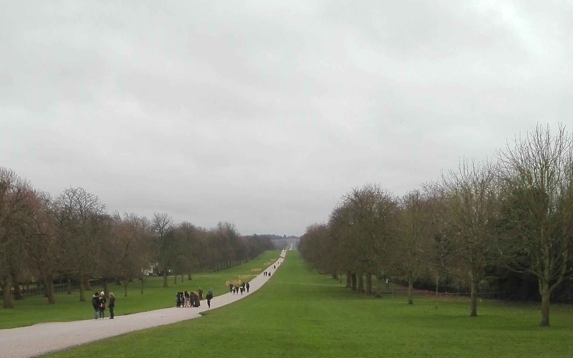 Der Park von Windsor Castle
