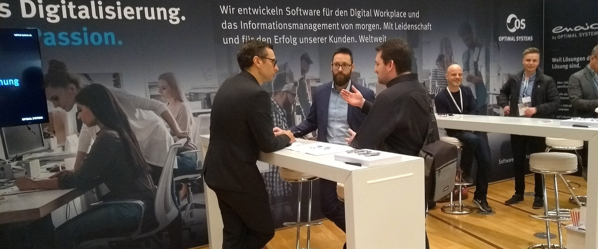 OPTIMAL SYSTEMS auf dem DIGITAL FUTUREcongress 2019