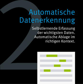 Grafik zur Automatischen Datenerkennung
