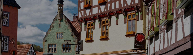 Impression eines Fachwerkhauses in Schorndorf