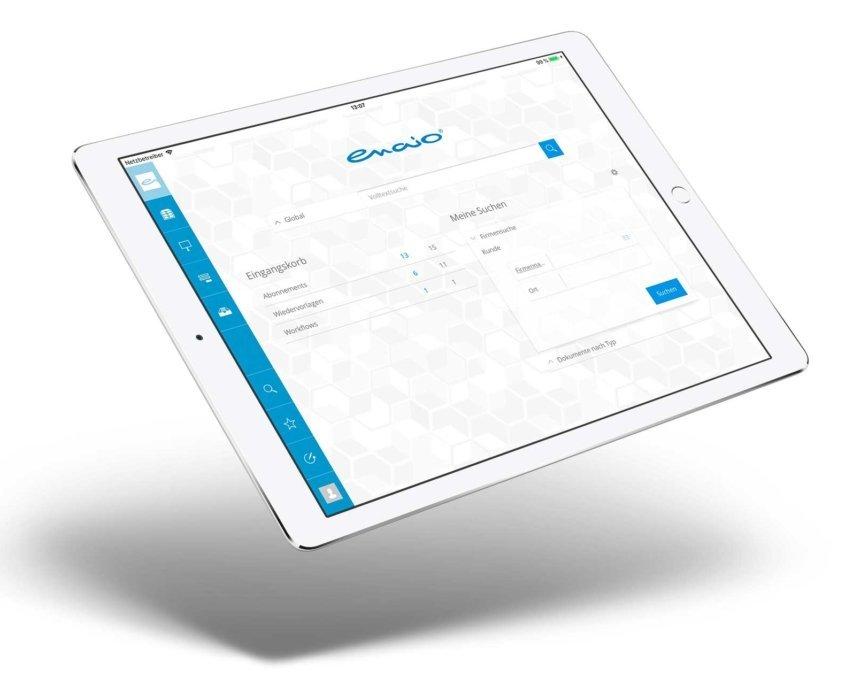 enaio auf iPad