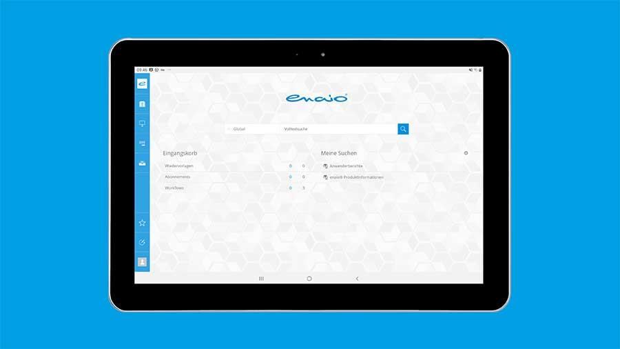 enaio® Dashboard - alle Informationen auf einen Blick