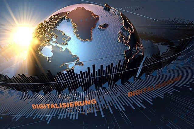 Digitalisierung um die Welt