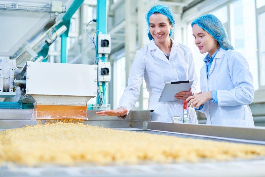 Frauen Labor Digitalisierung Lebensmittelindustrie