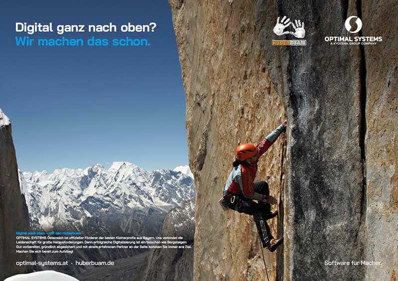 Plakat Bergsteiger Huberbuam