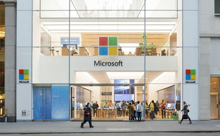 Microsoft Store Eingang New York City