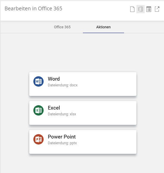 enaio Microsoft Office 365 Integration